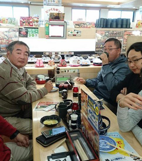 年末大掃除&お寿司食べてきました