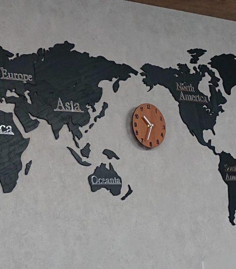 オシャレな世界時計
